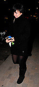 11.MAR.2009 - LONDON<br /> <br /> LILY ALLEN ARRIVIG AT ST PANCRAS STATION AFTER GETTING THE EUROSTAR BACK FROM PARIS AT 9:30PM WEARING A BLACK JUMPER. LILY GOT CHANGED ON THE WAY, IN THE VAN AND ARRIVED AT SCOTTS RESTAURANT IN A DRESS BEFORE LEAVING AT 11:00PM AND GOING HOME.<br /> <br /> BYLINE MUST READ :EDBIMAGEARCHIVE.COM<br /> <br /> *THIS IMAGE IS STRICTLY FOR UK NEWSPAPERS &amp; MAGAZINES ONLY*<br /> *FOR WORLDWIDE SALES &amp; WEB USE PLEASE CONTACT EDBIMAGEARCHIVE-0208 954 5968*