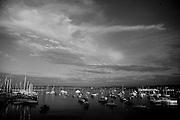 The Monterey, CA harbor.