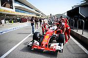 October 20, 2016: United States Grand Prix. Sebastian Vettel (GER), Ferrari