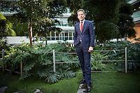 Den Haag , 8 september 2016 - Portret van Minister van financi&euml;n Jeroen Dijsselbloem.<br /> Foto: Phil Nijhuis