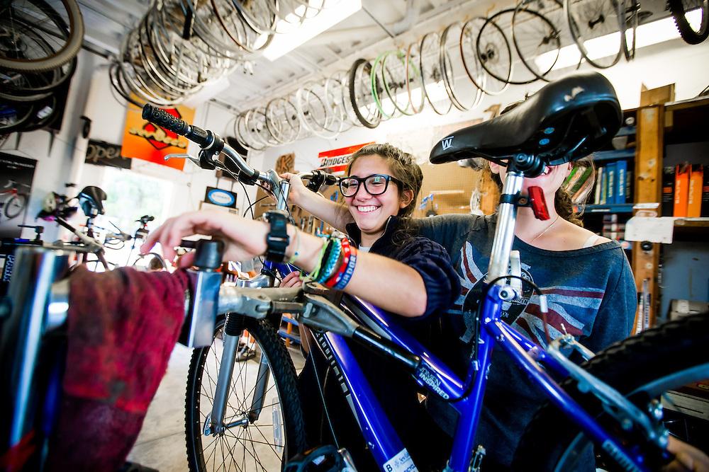 SARASOTA, FL -- August 19, 2016 -- The bike shop at New College of Florida in Sarasota, Florida. (PHOTO / New College of Florida, Chip Litherland)