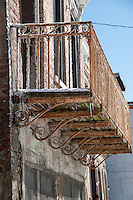 Historic Weathered Architectural Details in Over the Rhine