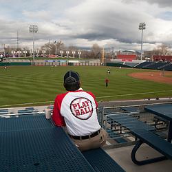 Opening night at Aces Ballpark. Reno Aces vs Colorado Springs Sky Sox, Friday, April 15, 2011...Photo by David Calvert/Reno Aces