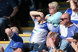 Bristol Rovers fans - Mandatory by-line: Arron Gent/JMP - 19/04/2019 - FOOTBALL - Cherry Red Records Stadium - Kingston upon Thames, England - AFC Wimbledon v Bristol Rovers - Sky Bet League One