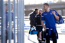 Alfie Kilgour of Bristol Rovers looks at his reflection - Mandatory by-line: Robbie Stephenson/JMP - 18/01/2020 - FOOTBALL - Aesseal New York Stadium - Rotherham, England - Rotherham United v Bristol Rovers - Sky Bet League One