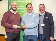 Criminal Justice Champion Winners Peter Atherton & Matthew Kidd <br /> Community Led Initiatives with Professor David Wilson. The Howard League for Penal reform's Community Awards 2015 The Kings Fund, London, UK. All use must be credited © prisonimage.org