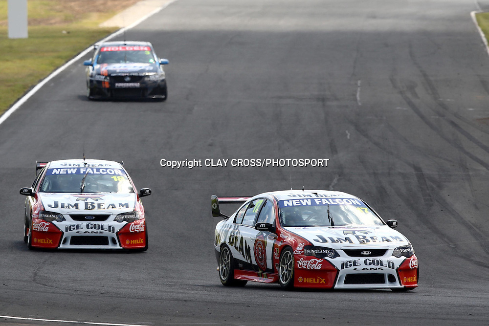 Steve Johnson of Jim Beam Racing during the V8 Supercar race at Eastern Creek Raceway, Western Sydney on Sunday 9th March 2008. Photo: Clay Cross/PHOTOSPORT
