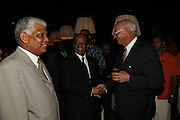 THE PRESIDENT OF MAURITIUS SIR ANEROOD JUGNAUTH AND ADOLPHE VALLET, ( BOARD OF DIRECTORS HOTEL CONSTANCE) . LE PRINCE MAURICE PRIZE 2006. PRINCE MAURICE HOTEL. MAURITIUS. 27 May 2006. ONE TIME USE ONLY - DO NOT ARCHIVE  © Copyright Photograph by Dafydd Jones 66 Stockwell Park Rd. London SW9 0DA Tel 020 7733 0108 www.dafjones.com