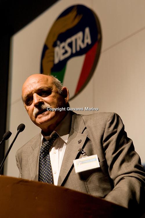 Roma 08/11/2008 - 1° Congresso La Destra.