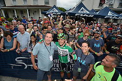 EDUARD PADRES poses after finishing the 2016 Philadelphia Cycling Classic UCI 1.1 Men's America Tour  on Sunday June 5th 2016, in Philadelphia Pennsylvania.