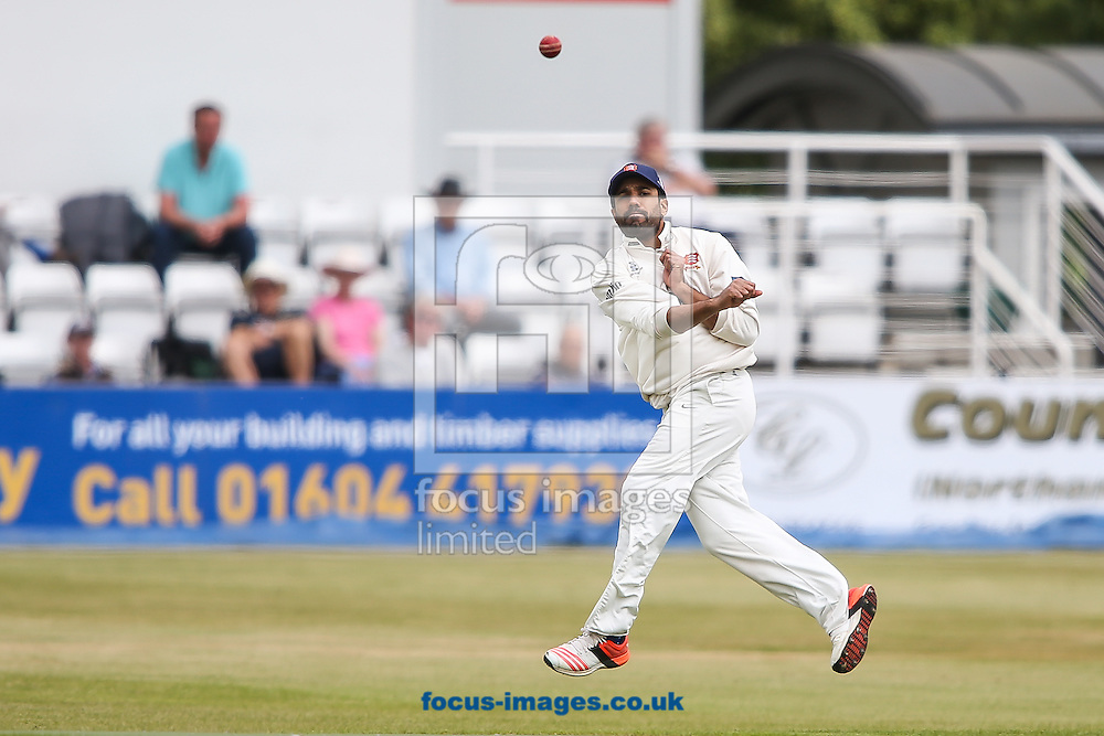 Ravi Bopara of Essex fields during the LV County Championship Div Two match at the County Ground, Northampton<br /> Picture by Andy Kearns/Focus Images Ltd 0781 864 4264<br /> 08/06/2015