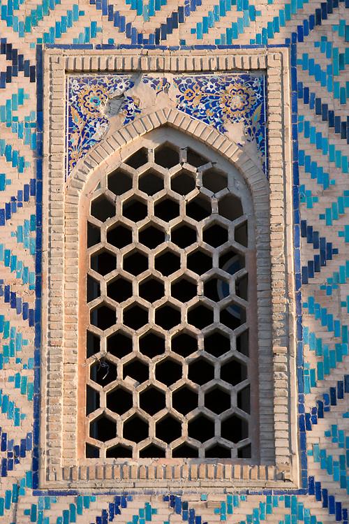 Window in the Registan, Samarkhand