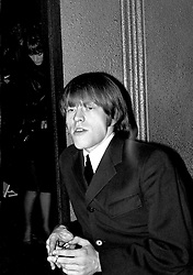 The Rolling Stones Charlie is my Darling - Ireland 1965 -..Brian Jones at the Rolling Stones press conference at the Adelphi Theatre, Middle Abbey Street, Dublin. This was the band's first Irish tour of 1965...The Rolling Stones Charlie is my Darling - Ireland 1965.Out November 2nd from ABKCO.Super Deluxe Box Set/Blu-ray and DVD Details Revealed. ..03/09/1965..09/03/1965..03 September 1965...ABKCO Films is proud to join in the celebration of the Rolling Stones 50th Anniversary by announcing exclusive details of the release of the legendary, but never before officially released film, The Rolling Stones Charlie is my Darling - Ireland 1965.  The film marked the cinematic debut of the band, and will be released in Super Deluxe Box Set, Blu-ray and DVD configurations on November 2nd (5th in UK & 6th in North America).. .The Rolling Stones Charlie is my Darling - Ireland 1965 was shot on a quick weekend tour of Ireland just weeks after ?(I Can't Get No) Satisfaction? hit # 1 on the charts and became the international anthem for an entire generation.  Charlie is my Darling is an intimate, behind-the-scenes diary of life on the road with the young Rolling Stones featuring the first professionally filmed concert performances of the band's long and storied touring career, documenting the early frenzy of their fans and the riots their live performances incited.. .Charlie is my Darling showcases dramatic concert footage - including electrifying performances of ?The Last Time,? ?Time Is On My Side? and the first ever concert performance of the Stones counterculture classic, ?(I Can't Get No) Satisfaction.?  Candid, off-the-cuff interviews are juxtaposed with revealing, comical scenes of the band goofing around with each other. It's also an insider's glimpse into the band's developing musical style by blending blues, R&B and rock-n-roll riffs, and the film captures the spark about to combust into The Greatest Rock and Roll Band in the World.. .The 1965 version of Charlie is my D