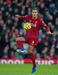 LIVERPOOL, ENGLAND - Saturday, November 30, 2019: Liverpool's Virgil van Dijk during the FA Premier League match between Liverpool FC and Brighton & Hove Albion FC at Anfield. (Pic by David Rawcliffe/Propaganda)
