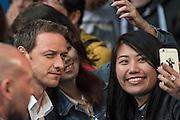 James McAvoy (Charles Xavier) - The 'global fan screening' of Twentieth Century Fox's X-Men Apocalypse at the BFI IMAX at Waterloo.