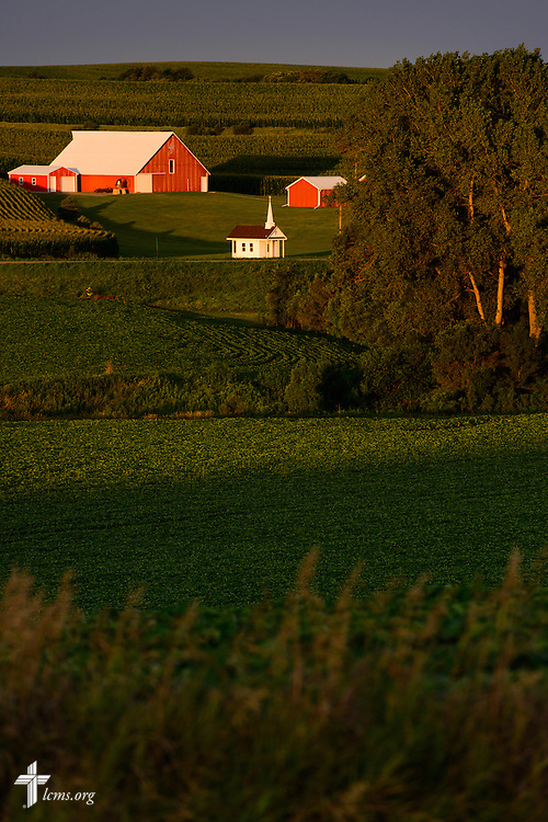 The campus of Mission Central at sunrise on Sunday, July 17, 2015, in Mapleton, Iowa. LCMS Communications/Erik M. Lunsford