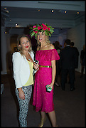 DAVINA HARBORD; HOLLY DUNLOP, Sotheby's Frieze week party. New Bond St. London. 15 October 2014.