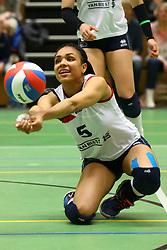 20160409 NED: Volleybal: Sliedrecht Sport - Eurosped TVT, Sliedrecht  <br />Celia Diemkoudre