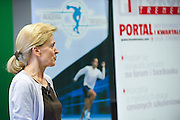 Dr hab. Jadwiga Malczewska - Lenczowska from Institut of Sport speaks during conference Trainers Academy for winter trainers and coaches at COS (Centralny Osrodek Sportowy) in Zakopane on September 8, 2014.<br /> <br /> Poland, Zakopane, September 08, 2014<br /> <br /> Picture also available in RAW (NEF) or TIFF format on special request.<br /> <br /> For editorial use only. Any commercial or promotional use requires permission.<br /> <br /> Mandatory credit:<br /> Photo by &copy; Adam Nurkiewicz / Mediasport