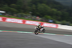 August 10, 2018 - Spielberg, Austria - race during free practice of Austrian MotoGP grand prix in Red Bull Ring in Spielberg, Austria, on August 10, 2018. (Credit Image: © Andrea Diodato/NurPhoto via ZUMA Press)