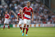 Middlesbrough midfielder Gaston Ramirez (21)  during the Premier League match between West Bromwich Albion and Middlesbrough at The Hawthorns, West Bromwich, England on 28 August 2016. Photo by Simon Davies.