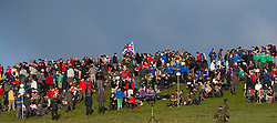 © licensed to London News Pictures. Okehampton, UK  14/05/2011 Thousands of young people wait to start the 2011 Ten Tors event on Dartmoor. Please see special instructions for usage rates. Photo credit should read London News Pictures