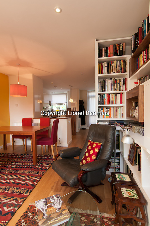 Council flat redecoration, Central London.