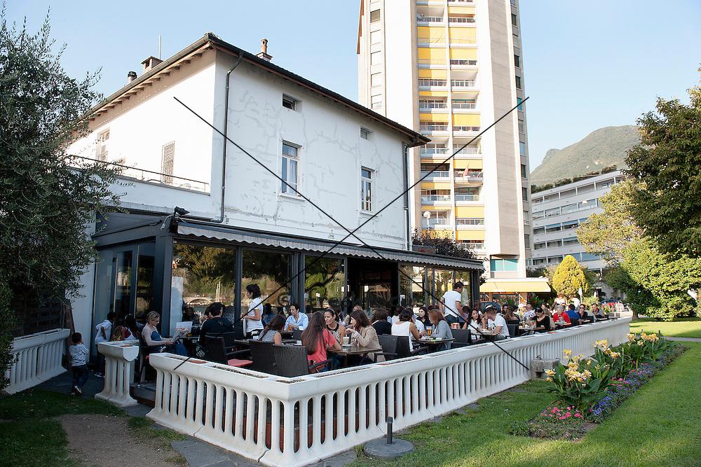 16.Sept.2012; Lugano; Durst Anstossen Ticino - Restaurant La Lanchetta: (Valeriano Di Domenico/freshfocus)