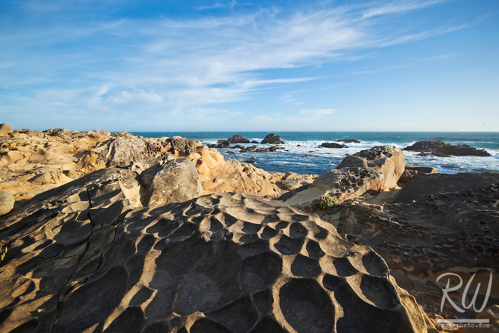 Tafoni Rock Formations at Gerstle Cove, Salt Point State Park, California