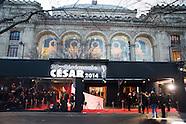 Cérémonie des César 2014 Théâtre du Châtelet