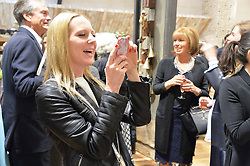 ALICE NAYLOR-LEYLAND at a party to celebrate the publication of 'Inspire: The Art of Living With Nature' by Willow Crossley held at Anthropologie, 131-141 Kings Road, London on 13th March 2014.