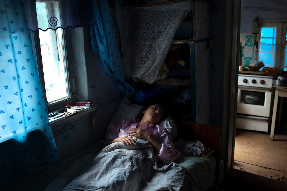 Angela Orlovsky is coinfected with HIV and MDR-TB.  She is very weak and spends most of her time in bed.