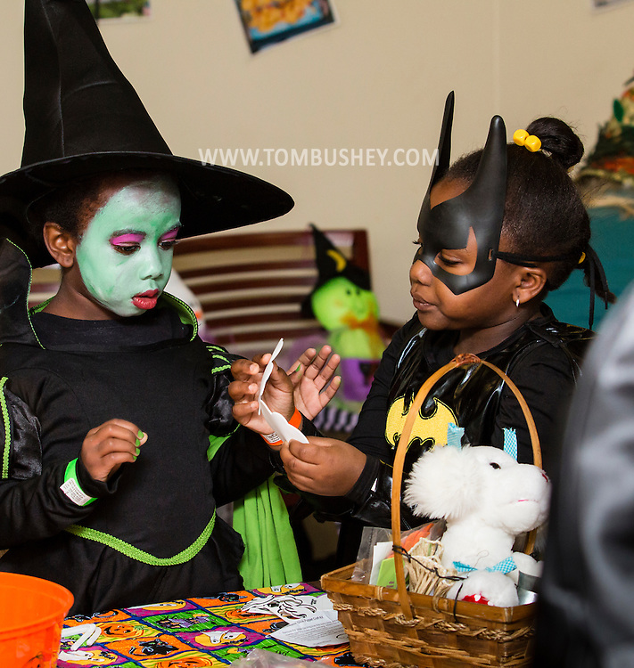Middletown, New York - Children enjoy the Halloween Fall Festival at the Center for Youth Programs on Oct.24, 2015.