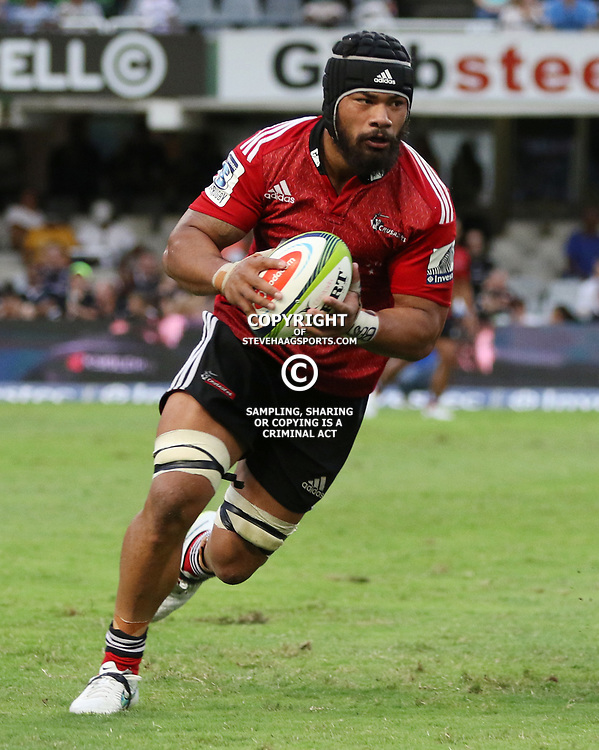 DURBAN, SOUTH AFRICA - APRIL 04:  during the Super Rugby match between Cell C Sharks and Crusaders at Growthpoint Kings Park on April 04, 2015 in Durban, South Africa. (Photo by Steve Haag/Gallo Images)