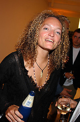 STEPHANIE THEOBALD social editor of Harpers & Queen at a party to celebrate the publication of 'Shalimar The Clown' by Salman Rushdie, held at the David Gill Galleries, 3 Loughborough Street, London SE11 on 7th September 2005.<br /><br />NON EXCLUSIVE - WORLD RIGHTS