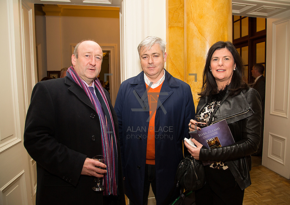22.11.2016                   <br /> University of Limerick (UL) hosted a gala concert celebrating the music of renowned composer M&iacute;che&aacute;l &Oacute; S&uacute;illeabh&aacute;in.<br /> <br /> Pictured at a special reception before the concert were, Dr. Pat Daly, Gary McMahon and Mary Daly.<br /> <br /> <br /> The RT&Eacute; Concert Orchestra, conducted by David Brophy, performed with M&iacute;che&aacute;l and a selection of special guests in University Concert Hall Limerick. Picture: Alan Place