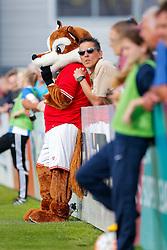 Bristol City Women's mascot Vicky the Vixon - Mandatory byline: Rogan Thomson/JMP - 09/07/2016 - FOOTBALL - Stoke Gifford Stadium - Bristol, England - Bristol City Women v Milwall Lionesses - FA Women's Super League 2.