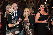 AURELIA BONITO; BARON MARC BURCA; EVA HAROLD; VIVIAN STAMP; , Eva Harold birthday party. Ballroom, Beach Blanket Babylon. Notting Hill, London. 19 November 2012.