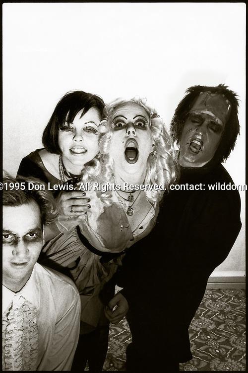 Sluts for Hire, Hollywood, CA, Oct. 31, 1995.