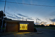 The United States Post Office in Moran, Texas on October 18, 2017. (Cooper Neill for The New York Times)