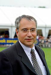 De Vos Igmar (BEL)<br /> European Championships Ponies - Lanaken 2002<br /> © Dirk Caremans