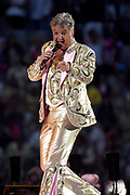 Toppers in Concert 'Royal Night of Disco' in de Amsterdam ArenA.<br /> <br /> Op de foto:  Rene Froger