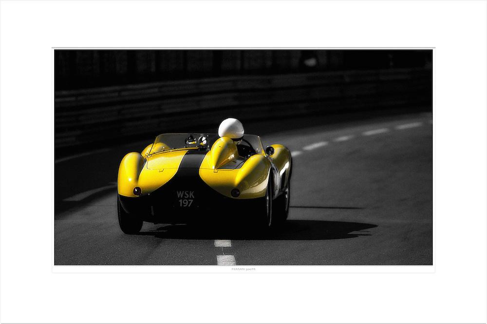 &quot;Ferrari 500 TR&quot;<br /> Format: 90x70cm<br /> Print: Museum Etching<br /> Limited edition: 10