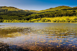 Looking across Loch Lubnaig on a sunny morning in JUne<br /> <br /> (c) Andrew Wilson | Edinburgh Elite media