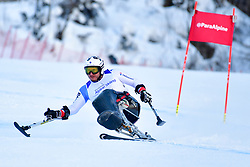Super Combined and Super G, PELIT Murat, LW11, SUI at the WPAS_2019 Alpine Skiing World Championships, Kranjska Gora, Slovenia