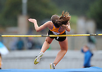 21 Aug 2016:  Emily Cahill, from Clare, taking part in the Girls U16 High Jump.  2016 Community Games National Festival 2016.  Athlone Institute of Technology, Athlone, Co. Westmeath. Picture: Caroline Quinn