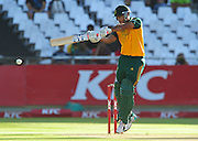Reed Hendricks of South Africa during the 2015 KFC T20 International game between South Africa and the West Indies at Newlands Cricket Ground, Cape Town on 9 January 2015 ©Ryan Wilkisky/BackpagePix