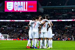 Jesse Lingard of England celebrates with teammates after scoring a goal to make it 1-0 - Mandatory by-line: Robbie Stephenson/JMP - 15/11/2018 - FOOTBALL - Wembley Stadium - London, England - England v United States of America - International Friendly