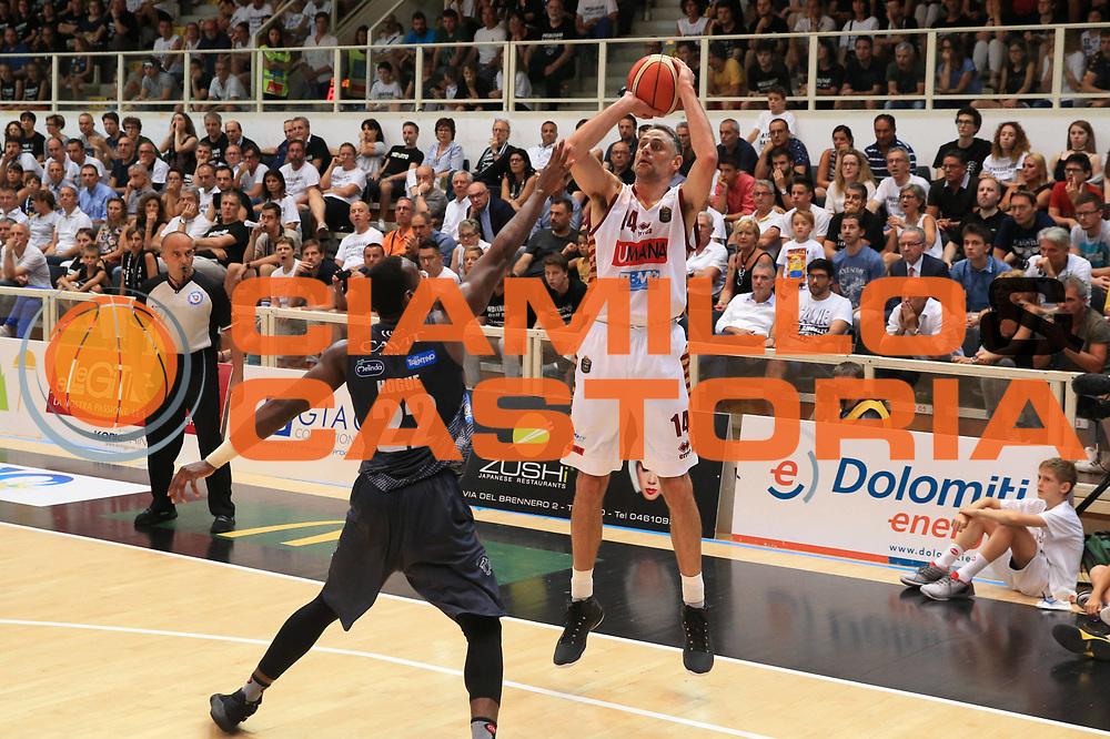 Rees Tomas<br /> Dolomiti Energia Trento - Umana Venezia<br /> Finale Gara 6<br /> Legabasket A 2016/2017<br /> Trento 20/06/2017<br /> Foto Ciamillo-Castoria