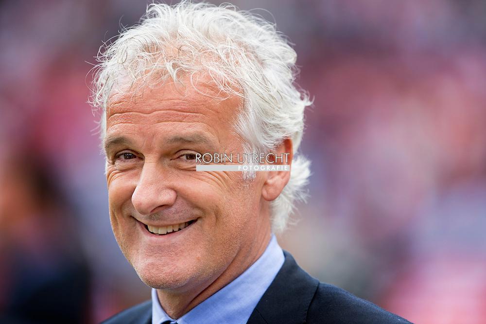 ROTTERDAM - FRed Rutten  Feyenoord ajax in de Kuip , Feyenoord verloor de wedstrijd met 0-1  in actie  COPYRIGHT ROBIN UTRECHT